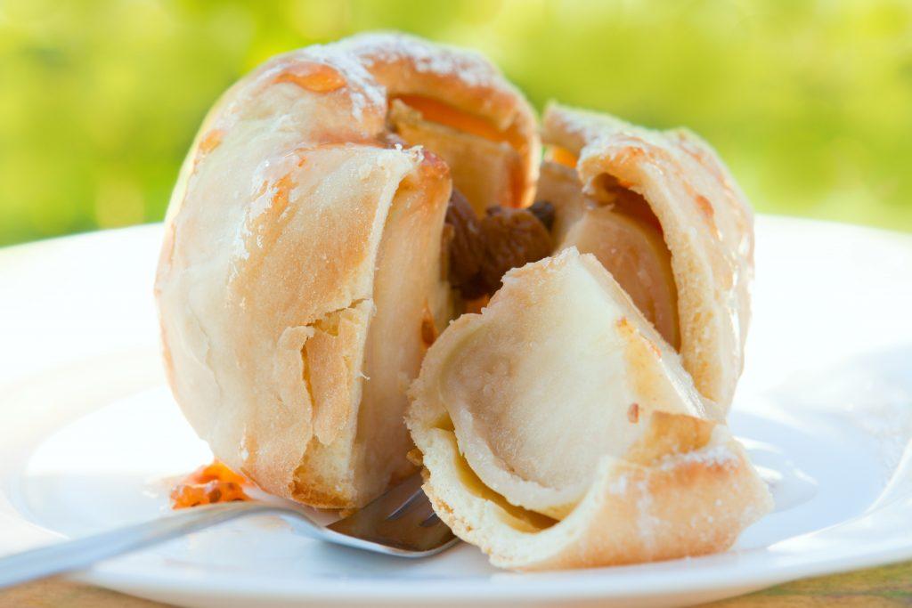 Les bourdelos (pommes au four) Spécialité NORMANDE
