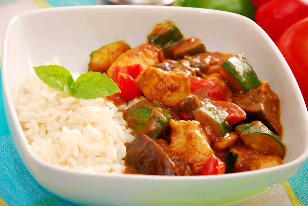 Curry de légumes