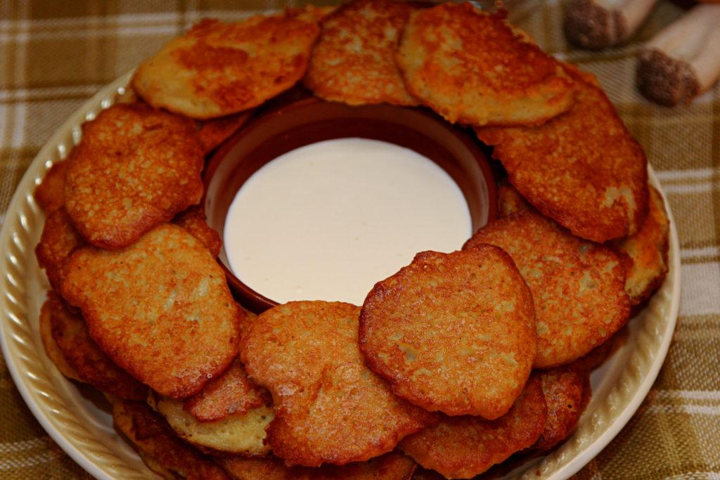 Crêpes de pommes de terre