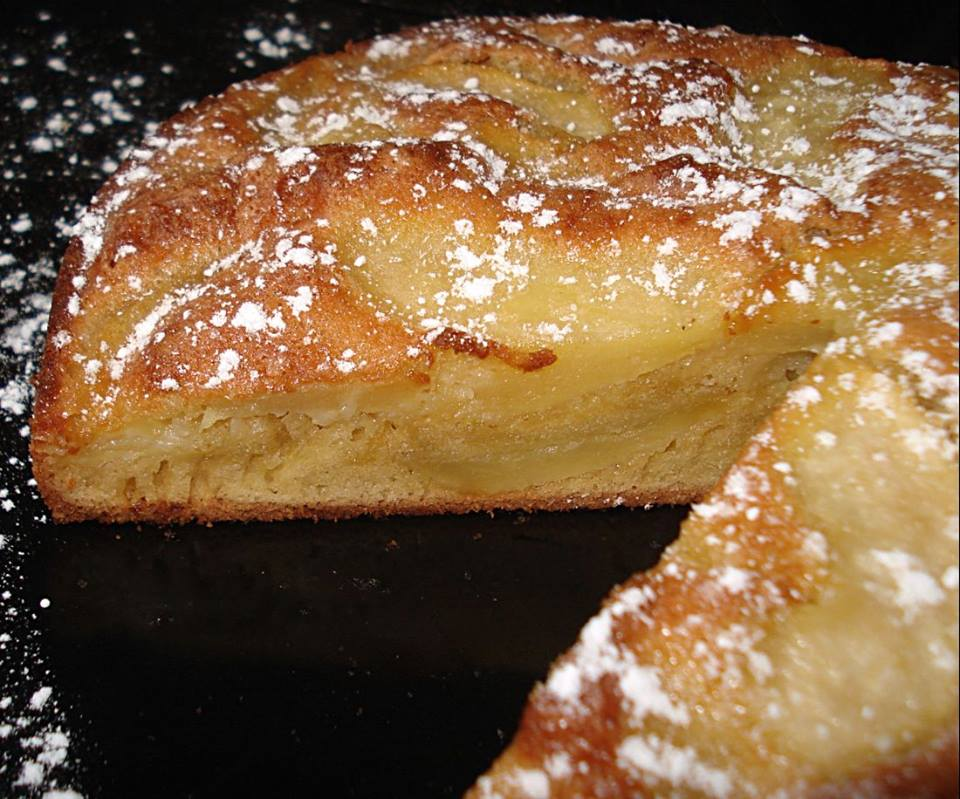 Gâteau aux pommes et au calva ! il faut bien se réchauffer !