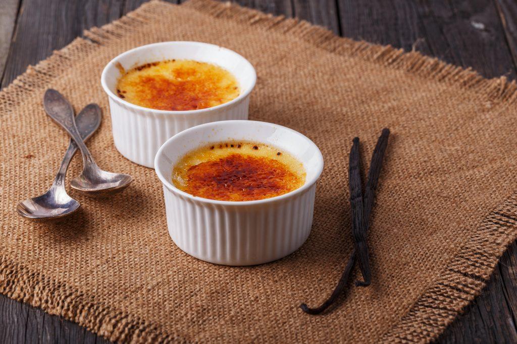 Crème aux œufs à la vanille en gousse