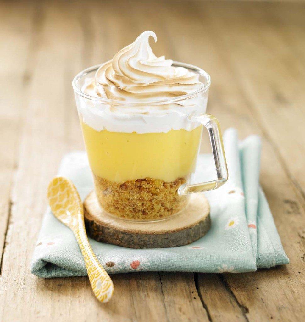 Verrine tarte aux citrons