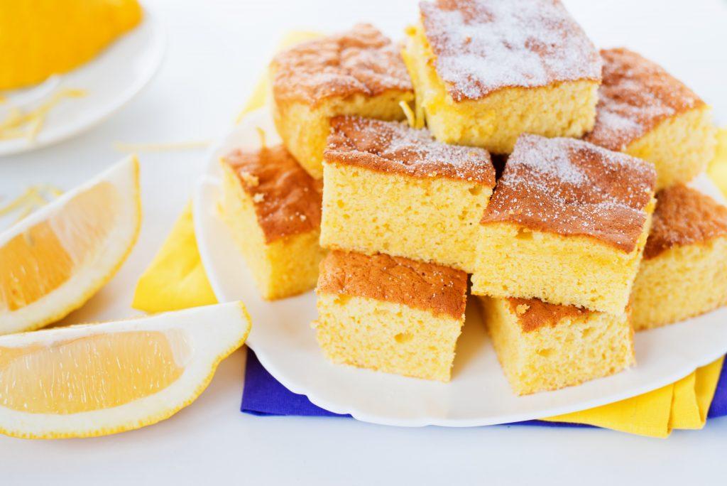 Gâteau rapide au citron léger