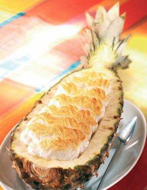 ananas meringué