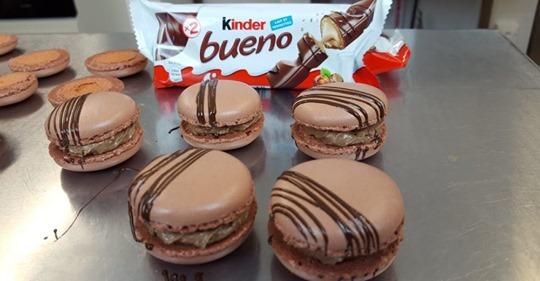 Une recette simplissime pour faire des macarons au Kinder Bueno