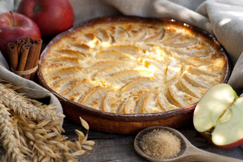 Pain aux pommes moelleux et délicieux