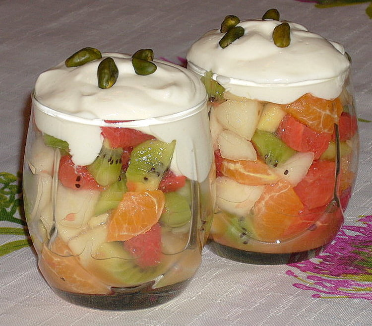 Verrine aux fruits
