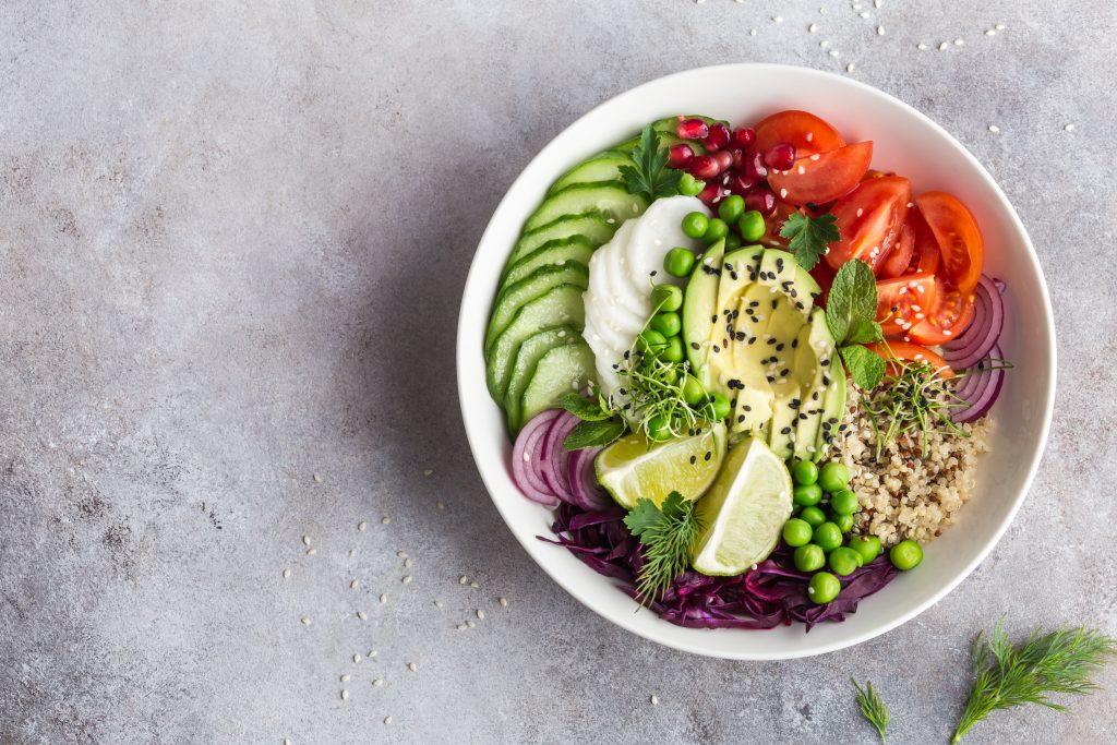 Lunch bowl (salade de légumes vitaminée)