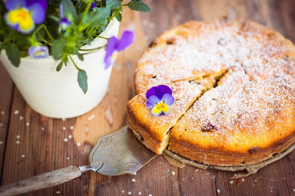 Gâteau au yaourt aux pommes