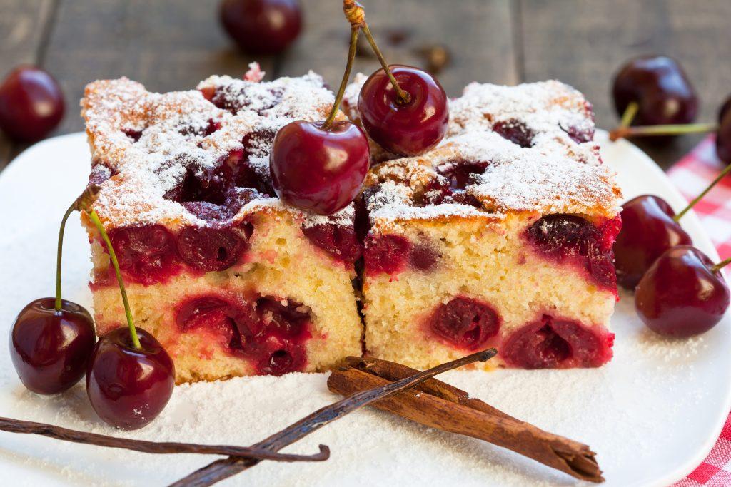 Gâteau simplissime aux cerises
