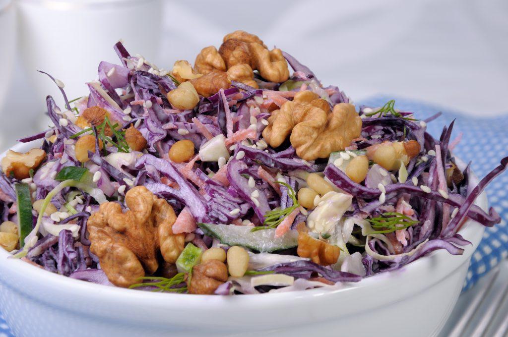 Salade de chou cru (recette du Nord)