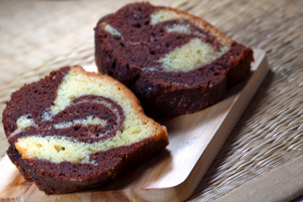 Gâteau au yaourt et pâte à tartiner