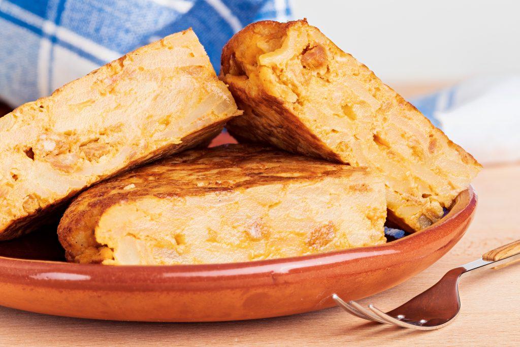 L'omelette de pomme de terre à l'italienne