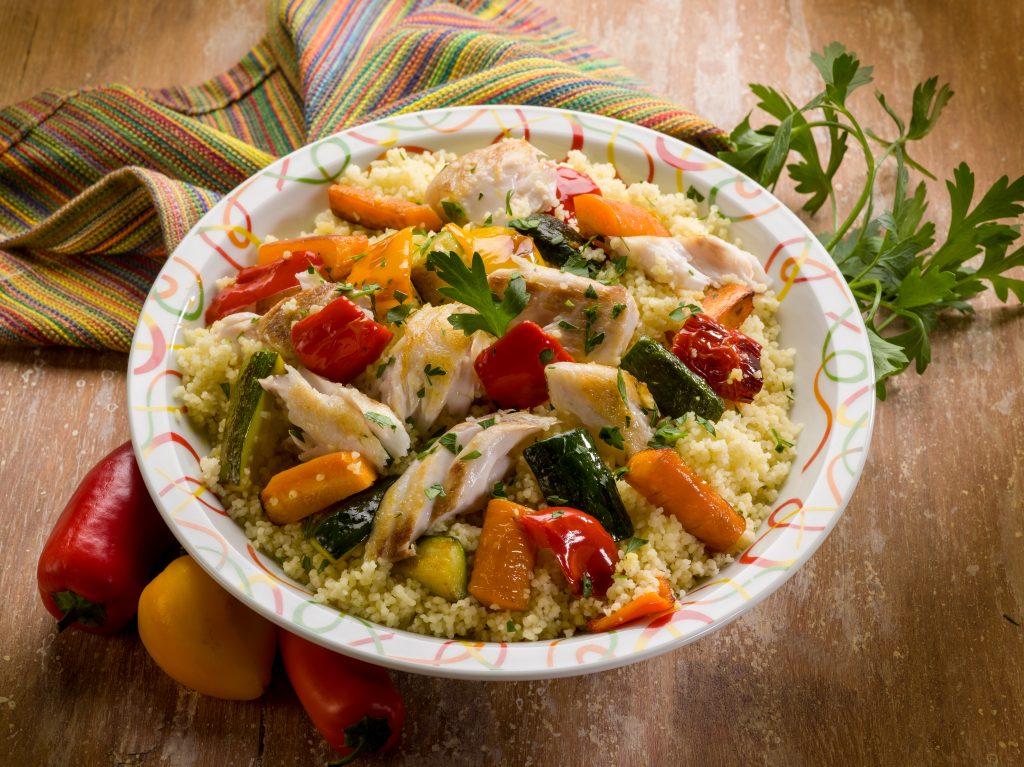 Couscous sicilien aux poissons