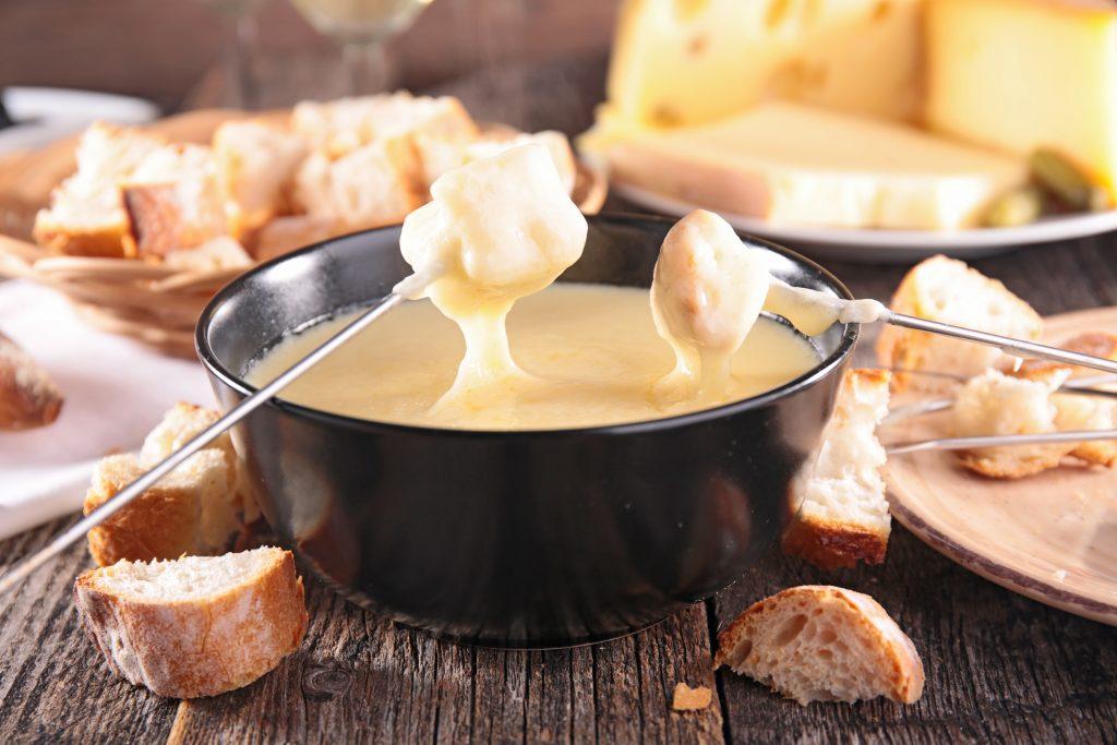 Fondue Savoyarde aux trois fromages