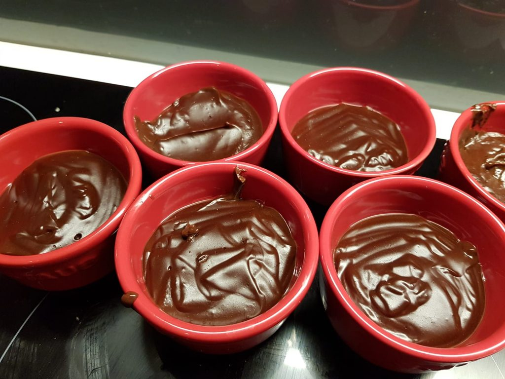 crème au chocolat prête en 5 minutes