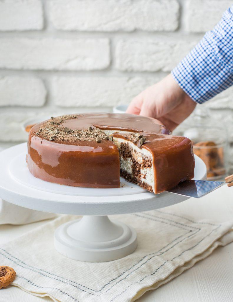 Le gâteau qui pleure