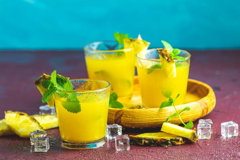 cocktail ananas mojito