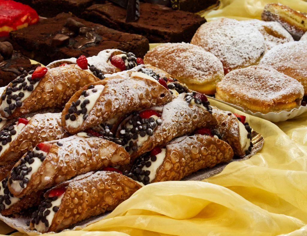 Cannoli Sicilien mascarpone et noisettes