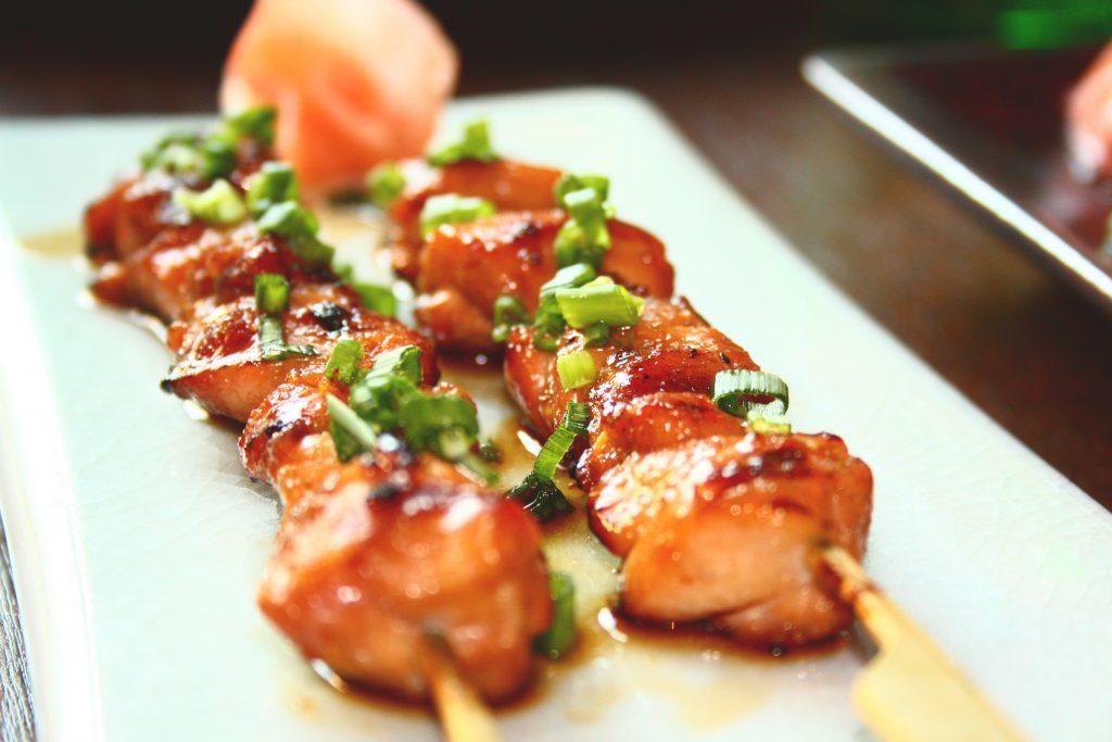 Brochettes de poulet Teriyaki