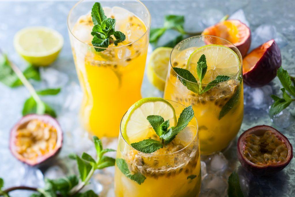 Cocktail fruits de la passion