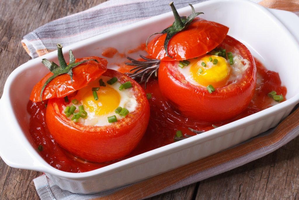 Œufs cocote en tomate