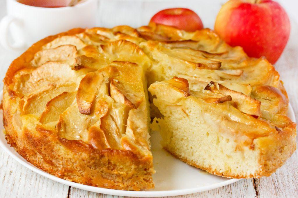 Gâteau aux pommes très facile