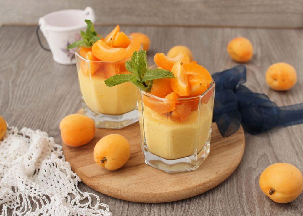 Mousse aux abricots