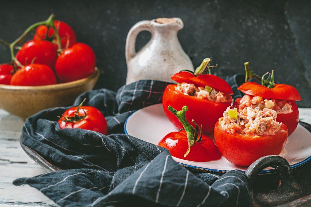 Tomates farcies thon