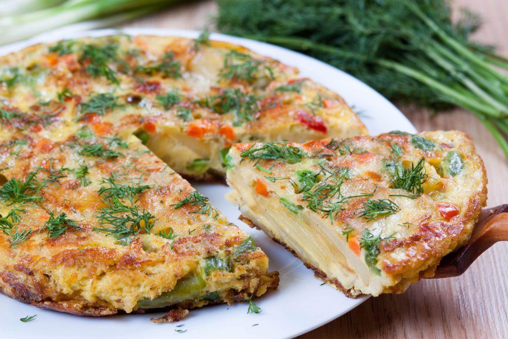 Omelette de légumes