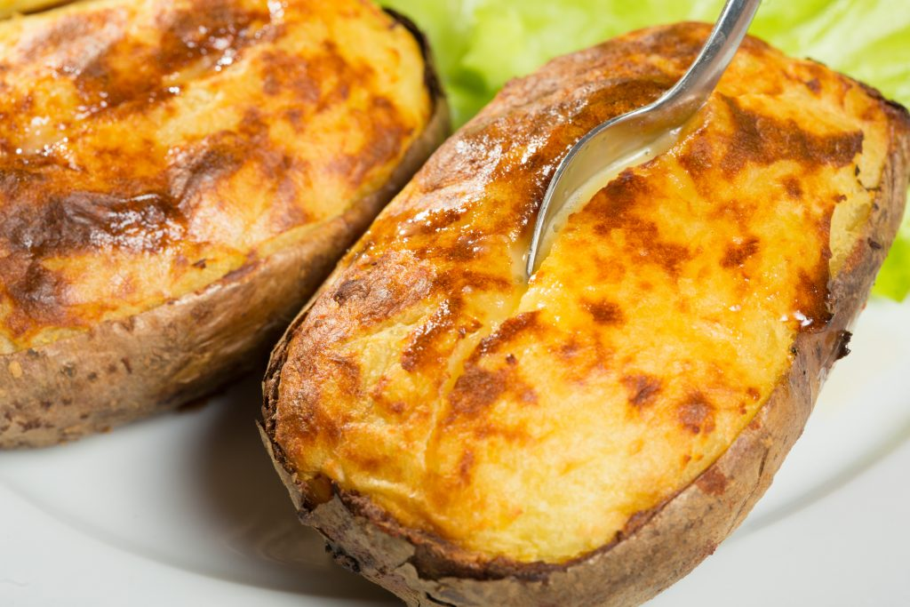 Pommes de terre farcies bien crémeuses