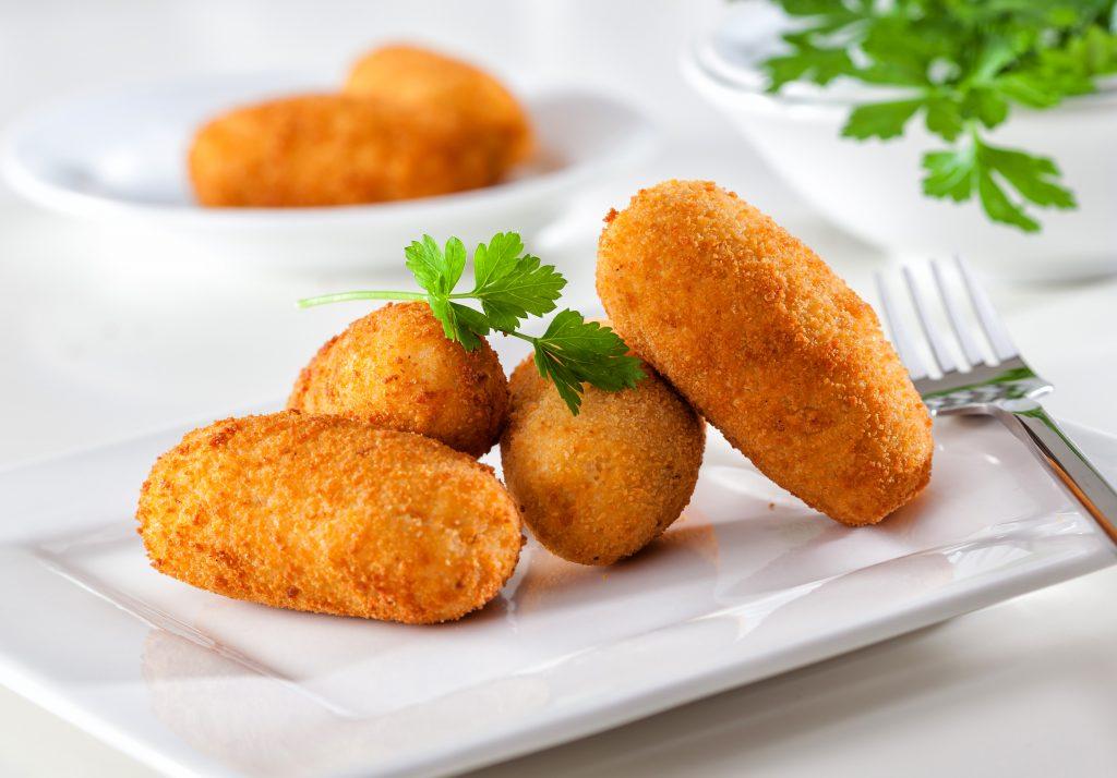 Croquettes patate douce et fromage à raclette