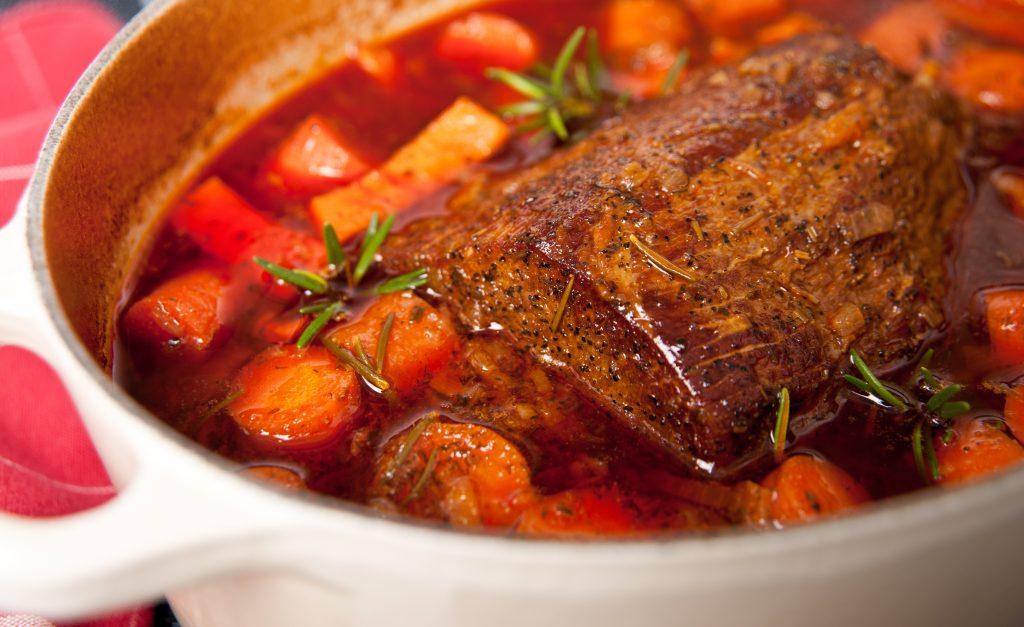 Mijoté de bœuf aux carottes et tomates